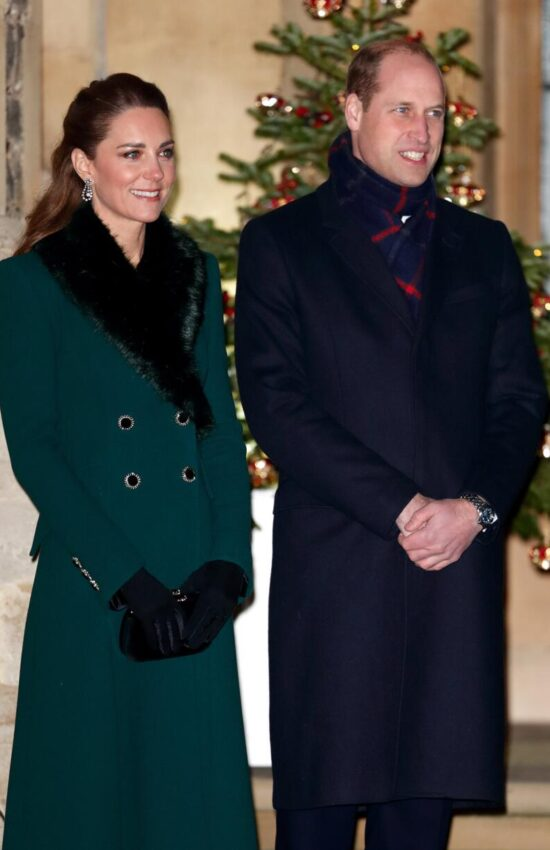 Kate Middleton's Royal Train Tour Fashion Brought the Holiday Happiness