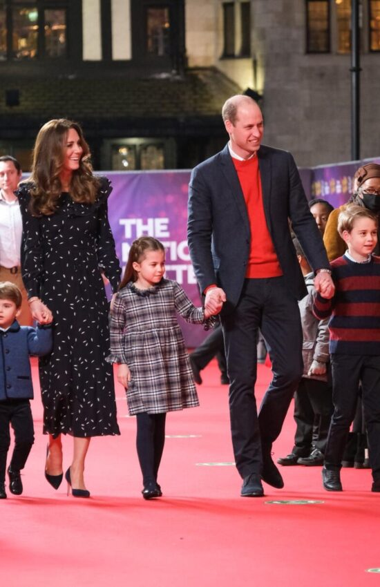 Kate Middleton in Alessandra Rich for Family Outing at the Theatre