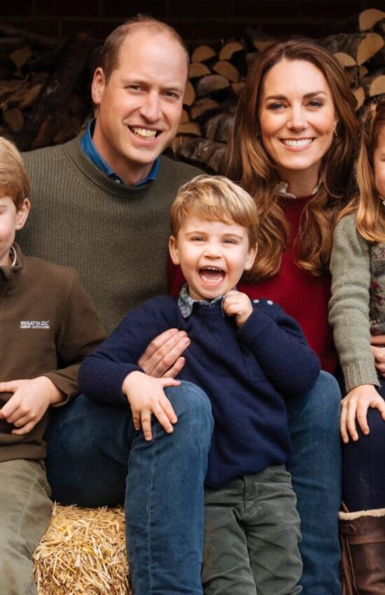 The 2020 Cambridge Family Christmas Card is Full of Country Charm