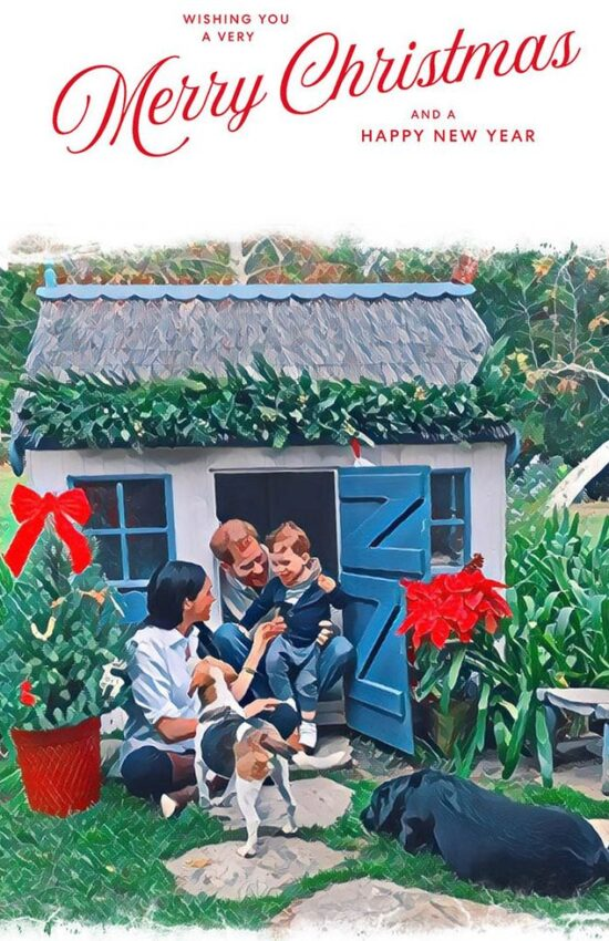 Meghan Markle and Prince Harry Release their 2020 Christmas Card