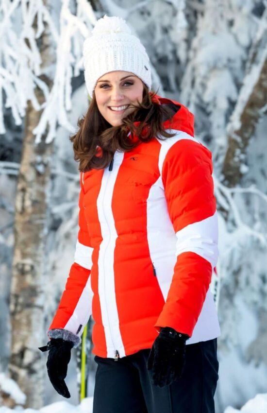 Kate Middleton's Best Wintertime Ski Coat Moments
