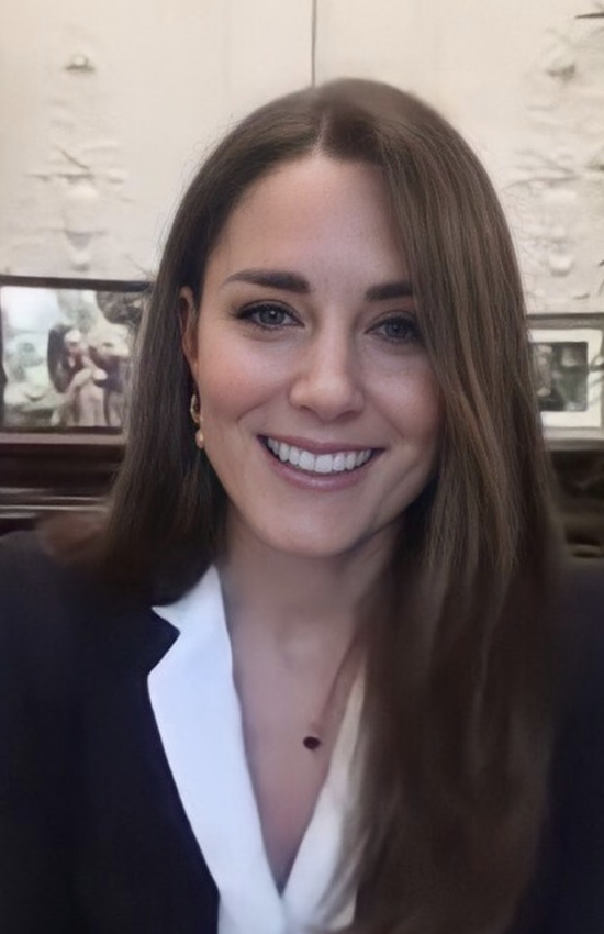 Kate Middleton Speaks to Nurses on Video Call from the Queen's Estate