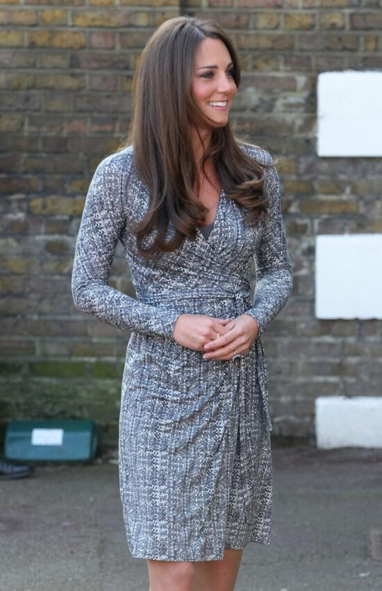 Kate Middleton's Best Wrap Dress Fashion Moments