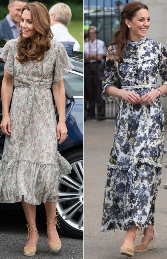 Kate Middleton and Meghan Markle Love the Same Celebrity Approved Espadrilles