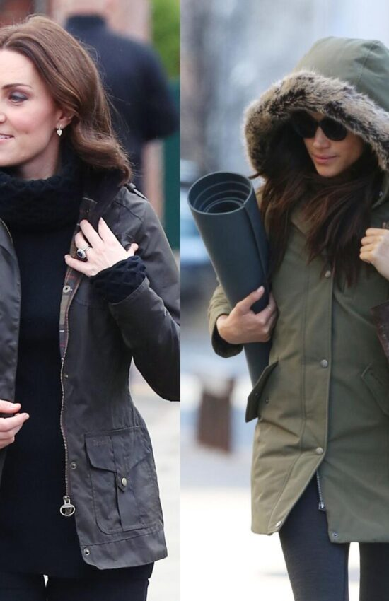Kate Middleton and Meghan Markle Both Love Barbour Jackets with Equal Passion