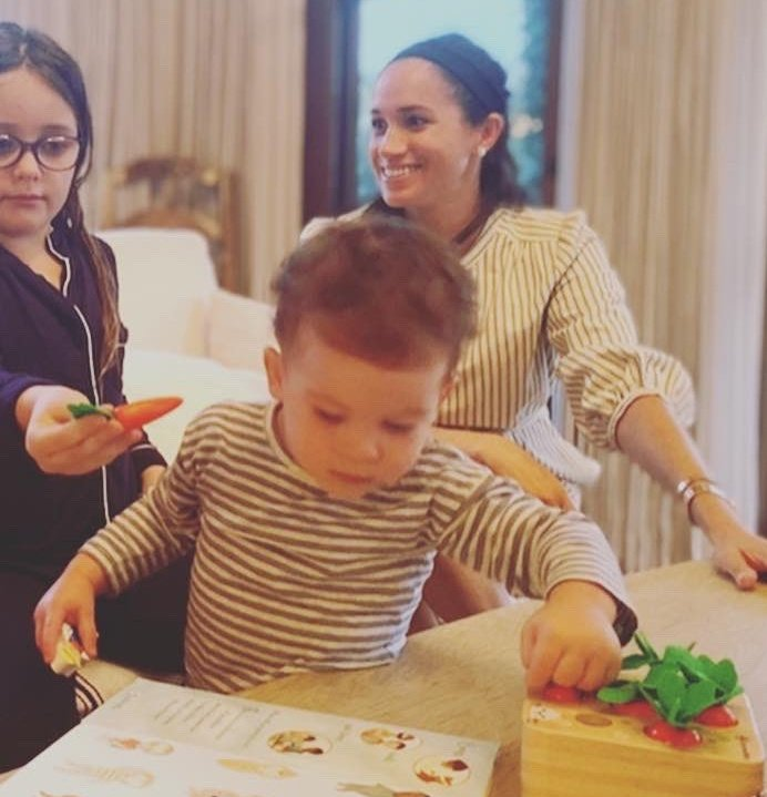 Meghan Markle's Friend Shares New Photos of the Duchess and Archie