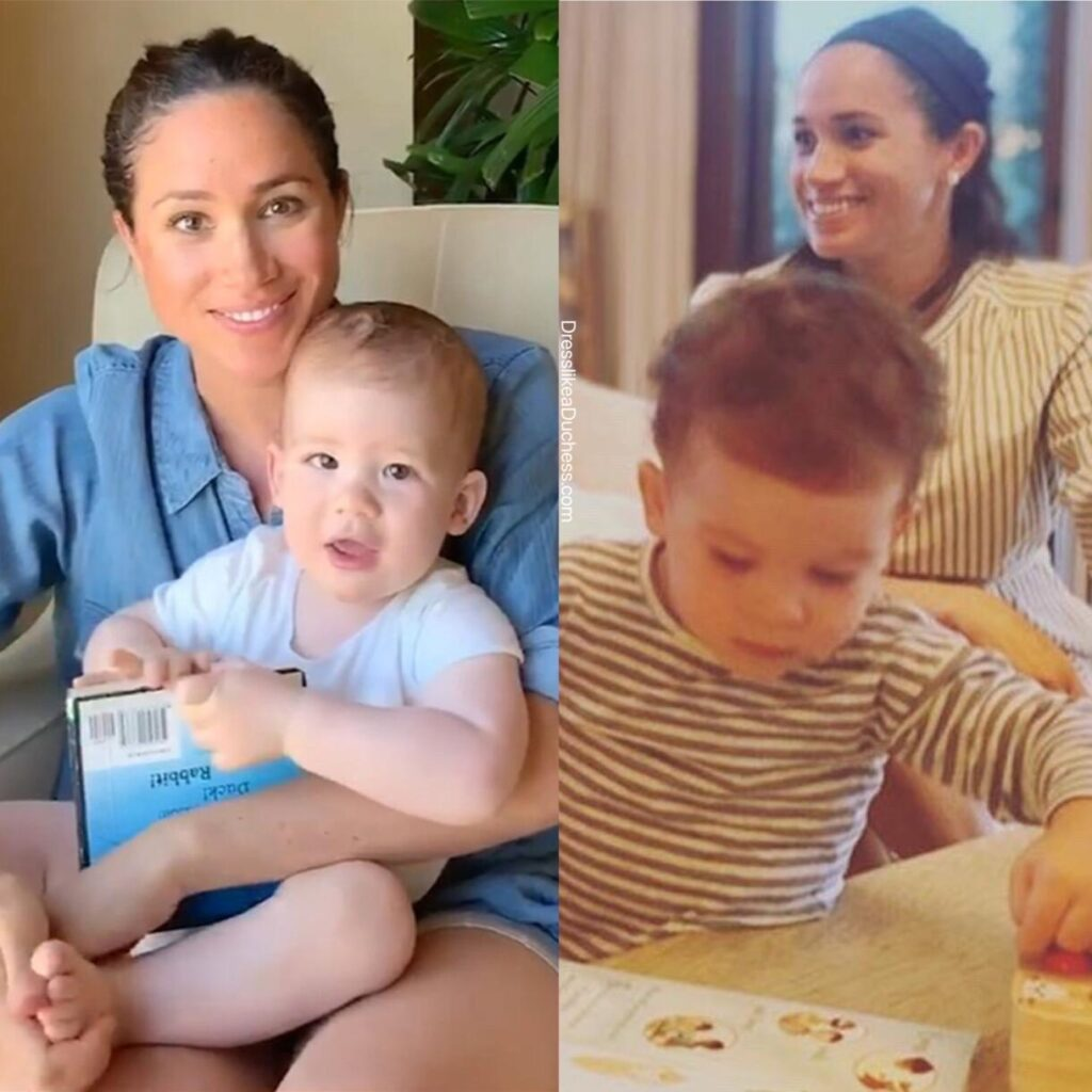 Meghan Markle's Friend Shares four New Photos of the Duchess and Archie never shared before