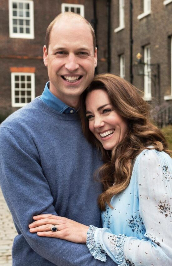 Kate Middleton and Prince William Release New Anniversary Portraits
