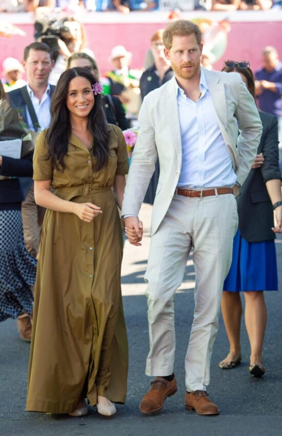 Meghan Markle's Summer-Friendly Staud Shirtdress is on Sale