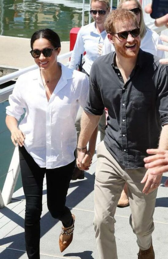 Meghan Markle's Casual Button Down Frank & Eileen Shirt is Still Available