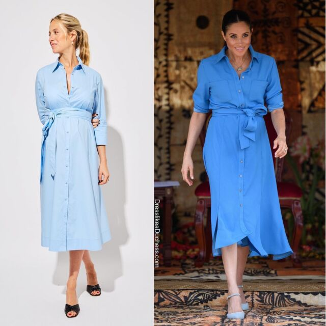 Oh Baby! One of Duchess Meghan's besties has announced she is expecting a bundle of joy this summer — a baby girl. In honor of her pregnancy, the NYC based designer has released a new maternity clothing collection. Meghan and Misha have long shared a similar style aesthetic with a love of button down shirts, tuxedo minis and belted shirt dresses. Shop a few of Meghan's classic Misha styles on our LIKEtoKNOW.it page (link in bio) or our IG stories today. #designer #momlife #classic #fashion #style #outfit #summerfashion #maternity #meghanmarkle #babygirl #styleblogger #styleinspo #fashionista