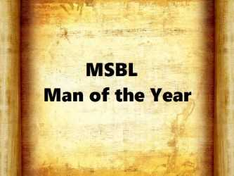 MSBL Man of the Year