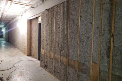 Spray Applied Wall Insulation
