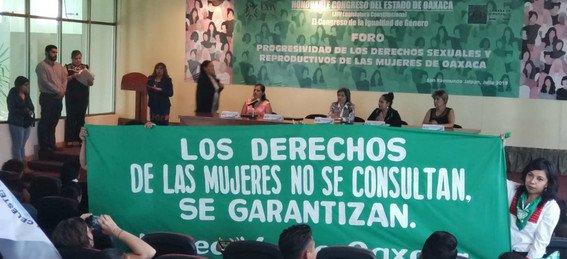 despenalizan el aborto en Oaxaca