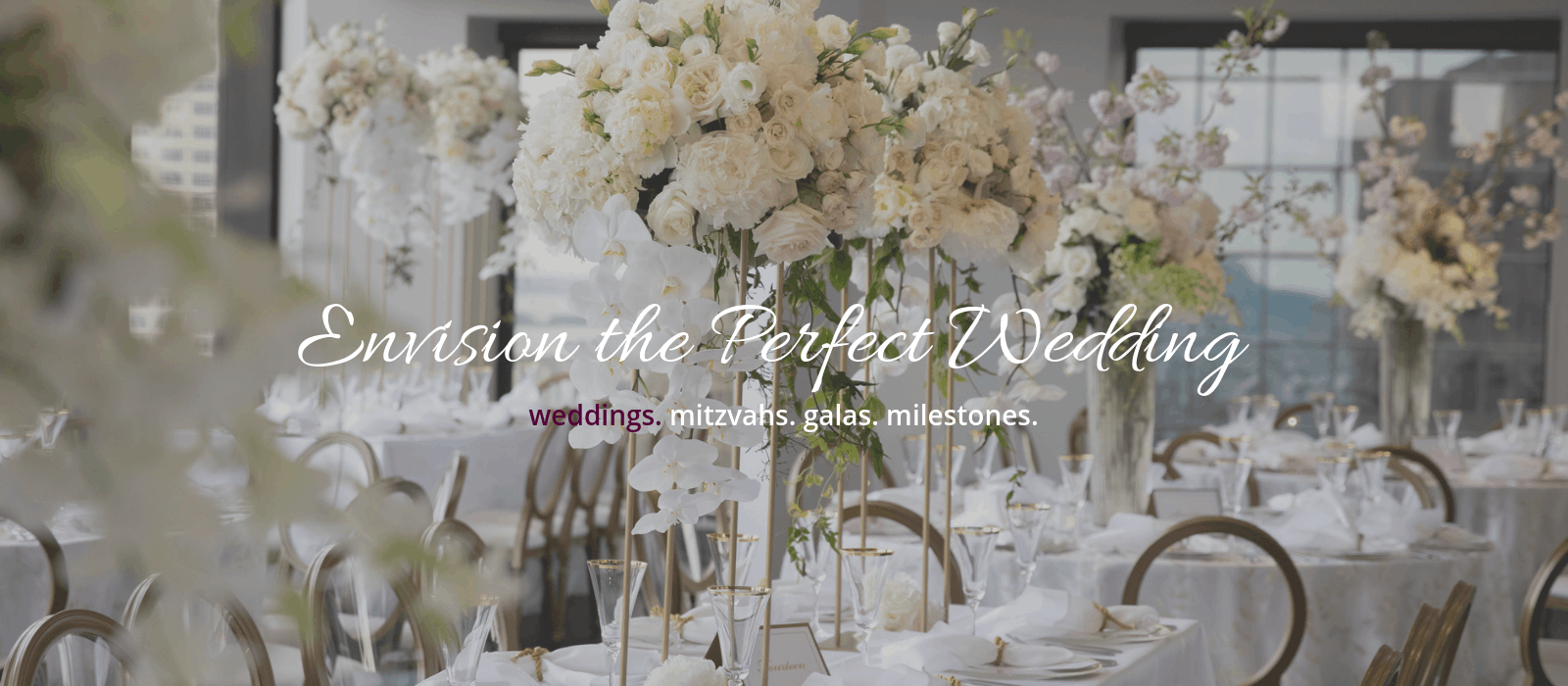 Boston Wedding Event Planner Jodi Raphael Events Header Banner