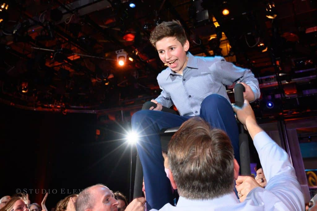 Bram Bar Mitzvah Chair Dance