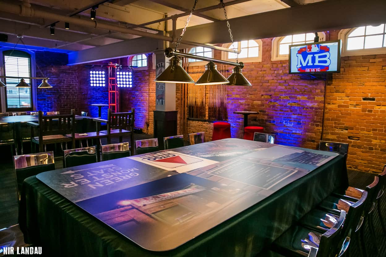 Miles Bar Mitzvah Tables