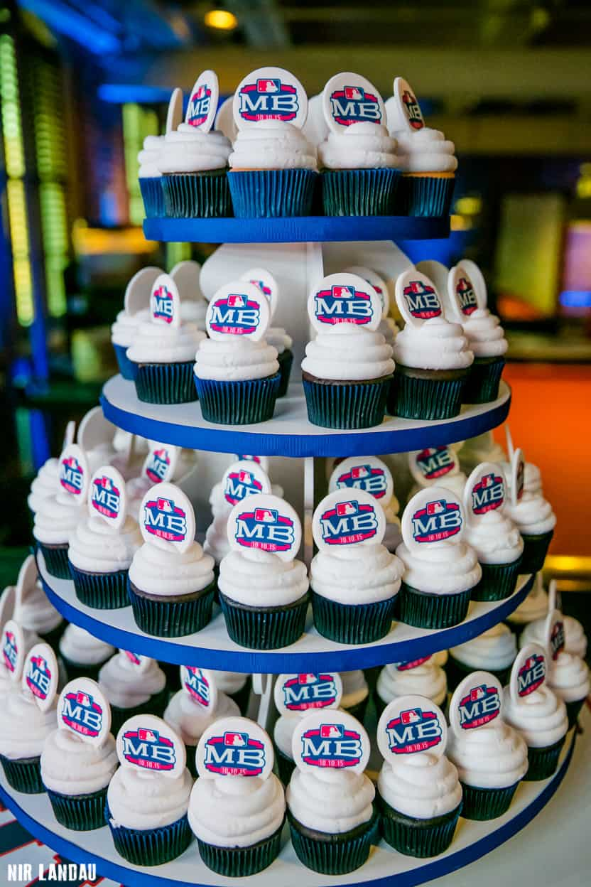 Bar Mitzvah Cupcakes Tiered like A Cake
