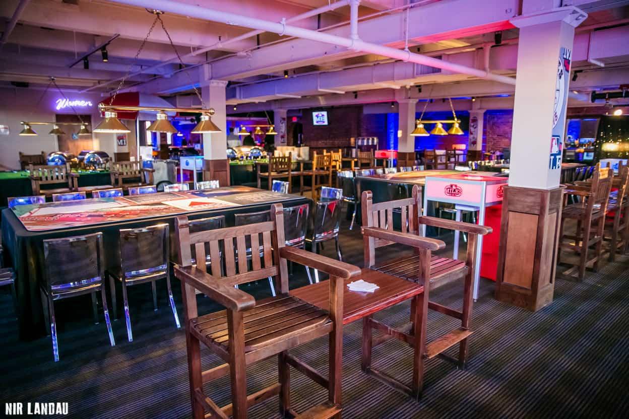 Julians Venue for Baseball Themed Bar Mitzvah