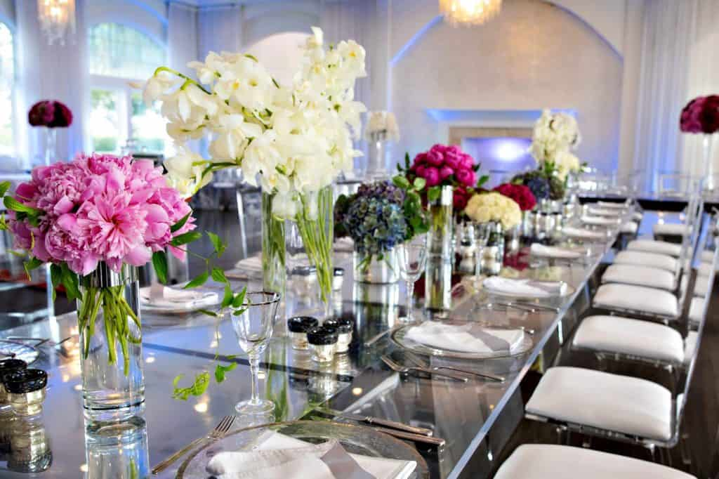 Gorgeous Colorful Floral Centerpieces