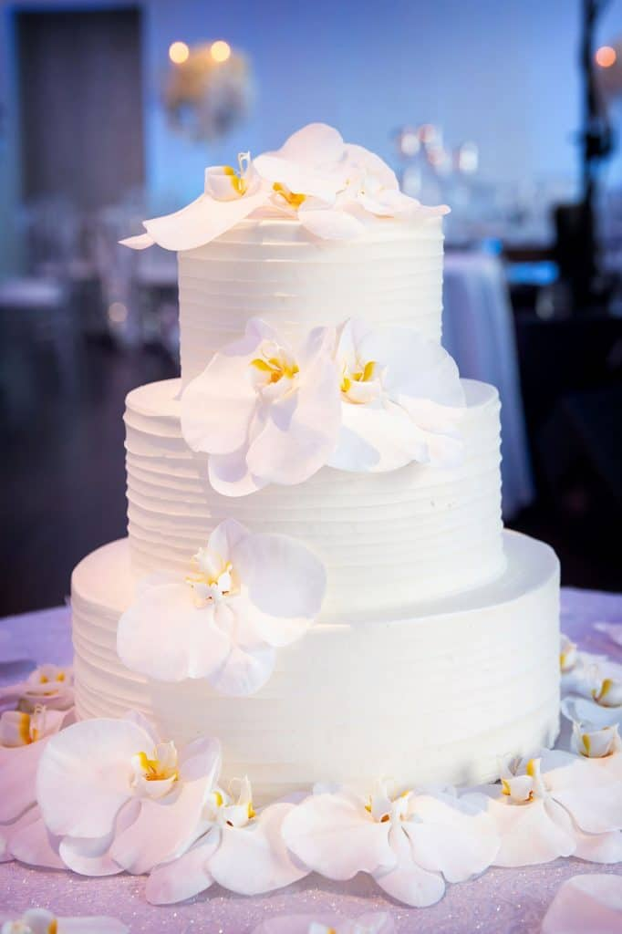 Liz and Nick Wedding Cake
