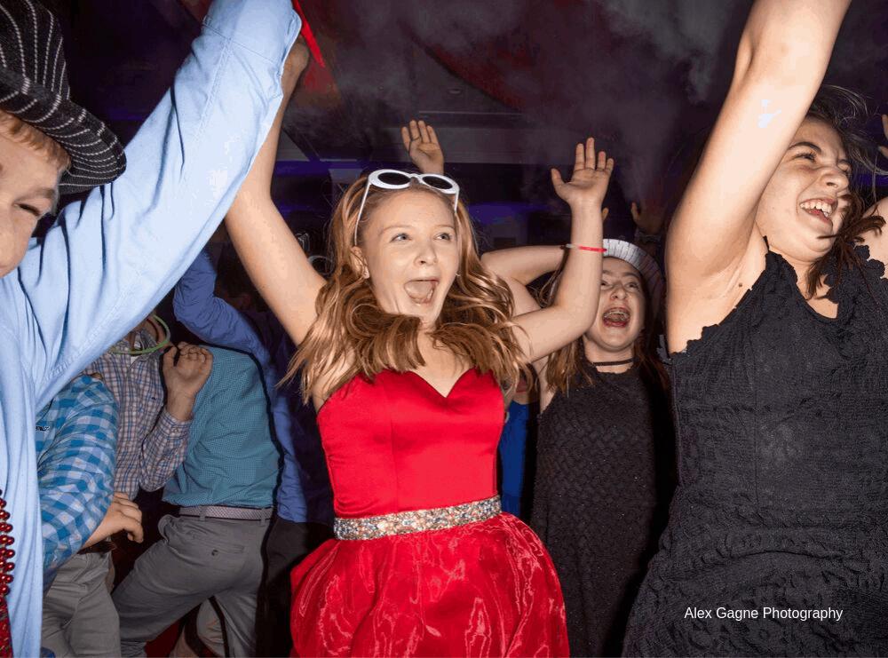 Girl Celebrating Bat Mitzvah