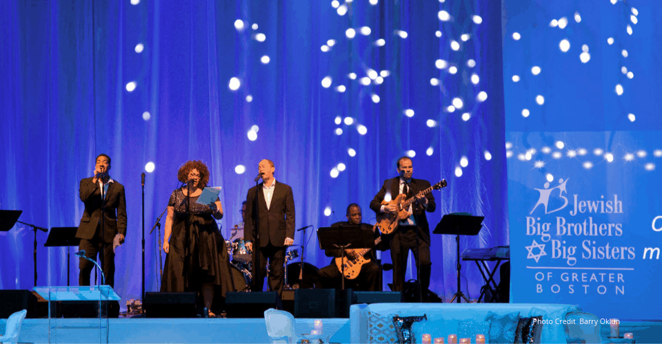Gala Event photo by Barry Okun featuring the Band