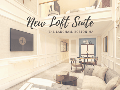 The Langham Boston New Loft Suite