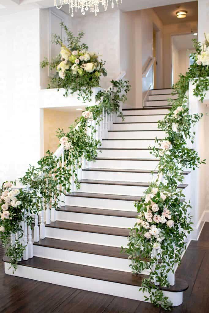 Jason and Jessica Wedding Foyer