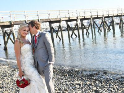 Lorena+Chris at Beach