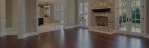 wood floor living room