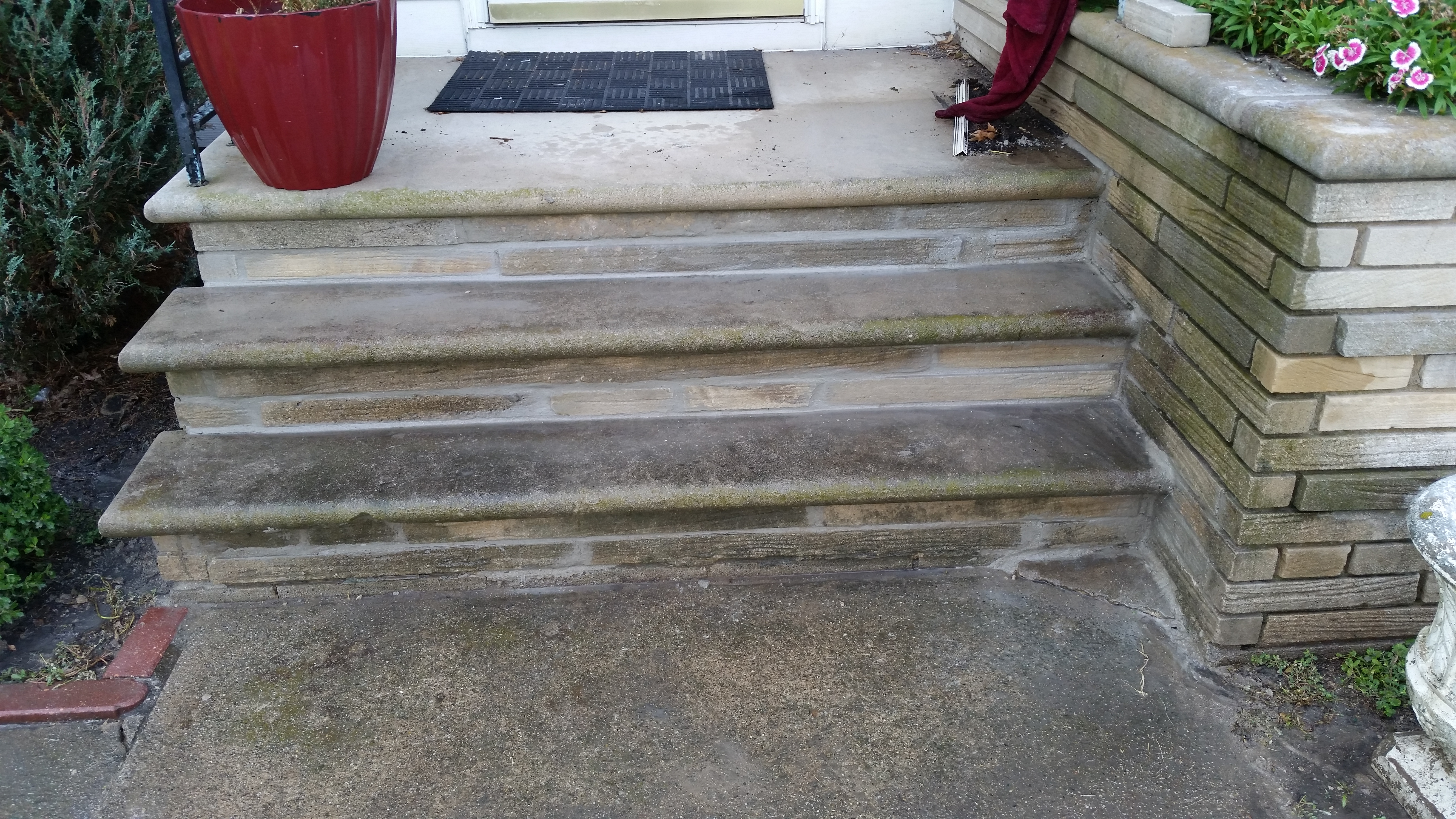 Repairs to Residential Home Stairs, Steps, Stone