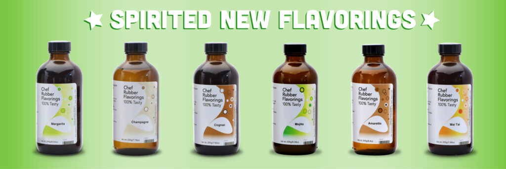 Flavorings From Chef Rubber