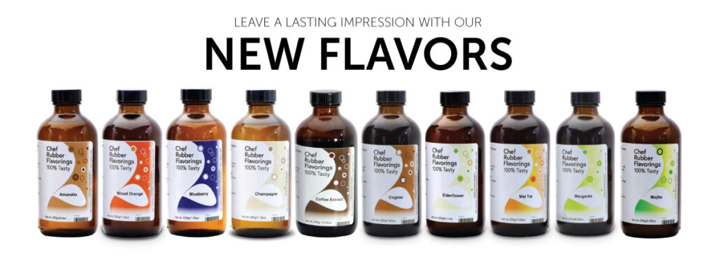 New Liquid Flavorings/Extracts From Chef Rubber