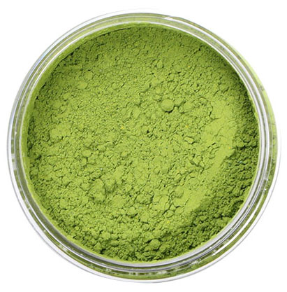 Green Natural Powder Color From Chef Rubber