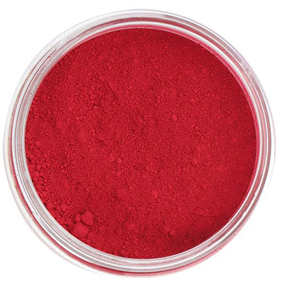 Intense Red Powder Color From Chef Rubber
