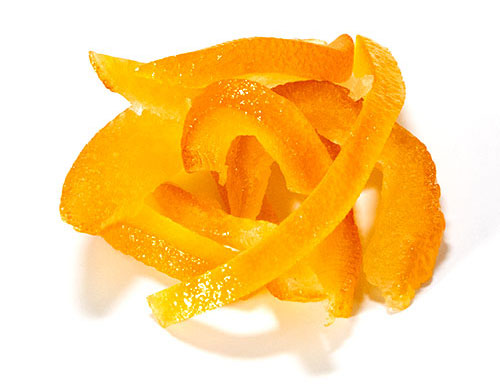 Glace Orange Peel Strip From Chef Rubber