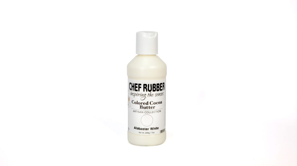Alabaster White Colored Cocoa Butter From Chef Rubber On Amazon