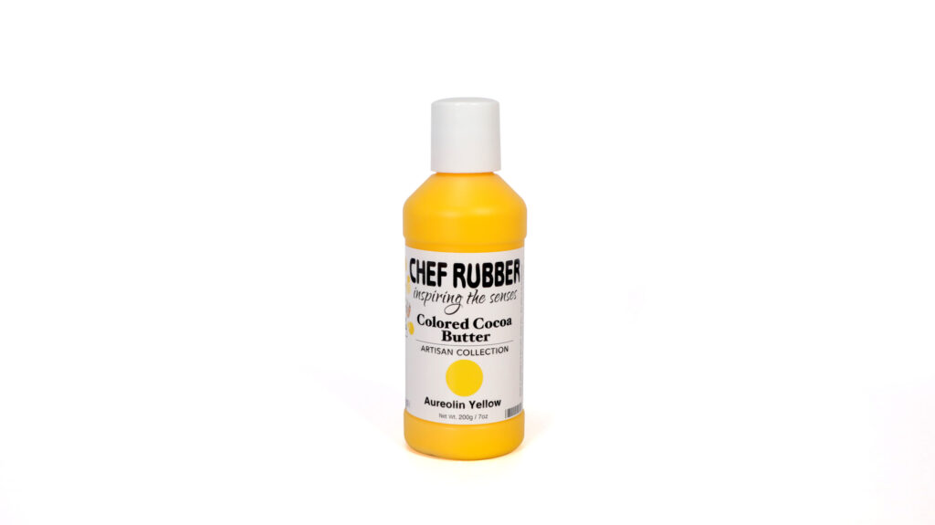 Aureolin Yellow Colored Cocoa Butter From Chef Rubber On Amazon
