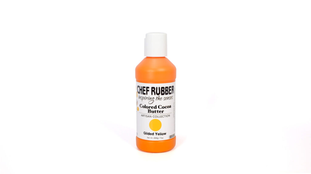 Gilded Yellow Colored Cocoa Butter From Chef Rubber On Amazon