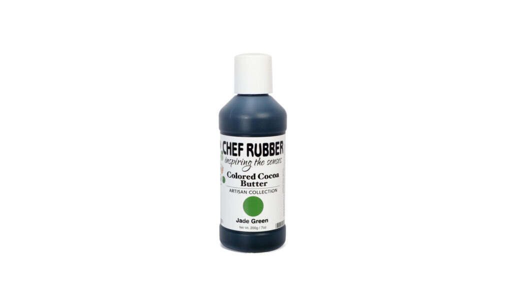 Jade Green Colored Cocoa Butter From Chef Rubber On Amazon