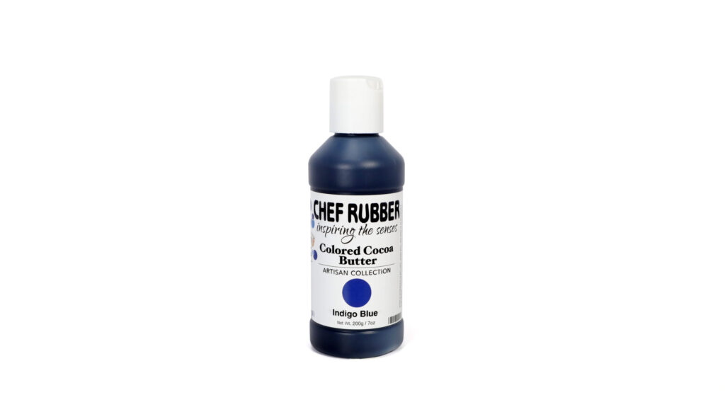 Indigo Blue Colored Cocoa Butter From Chef Rubber On Amazon