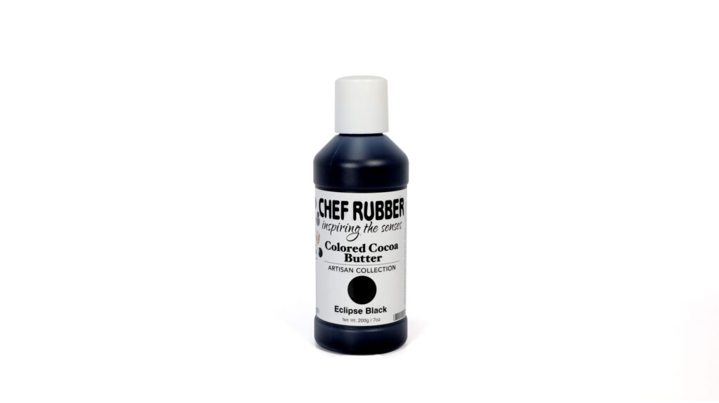 Eclipse Black Colored Cocoa Butter From Chef Rubber On Amazon