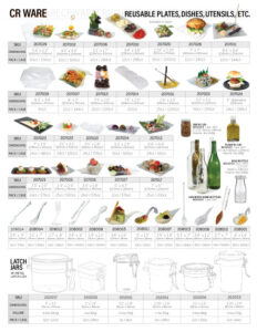 Catering Supplies Sidebar
