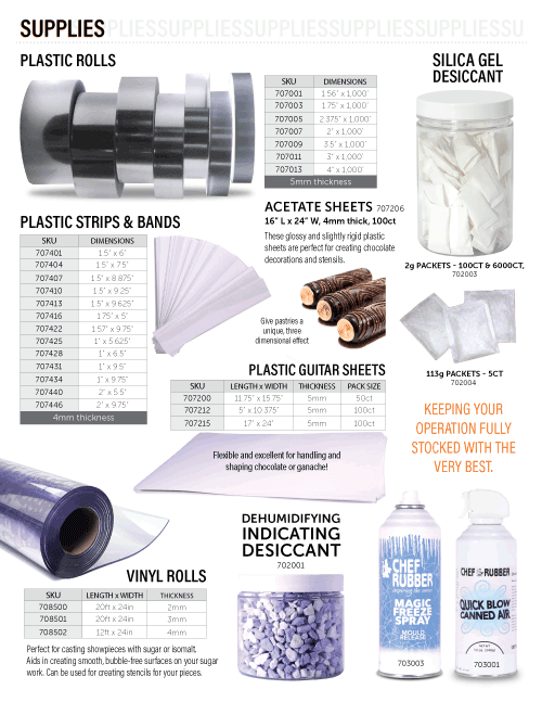 Supplies Catalog