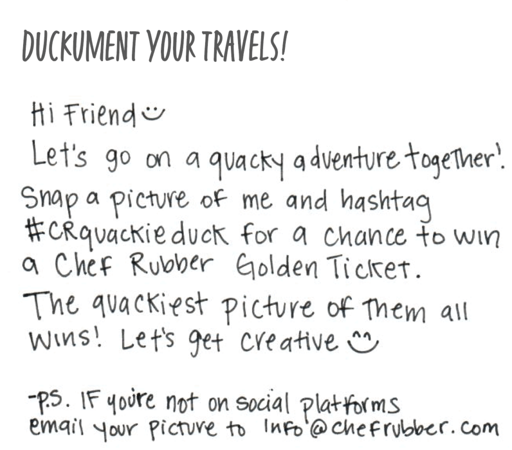 duckument your travels