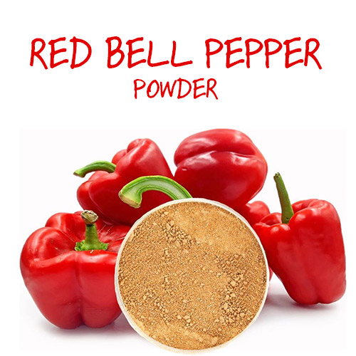 red bell pepper powder