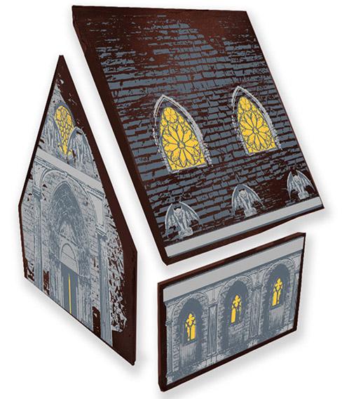haunted house transfer sheet