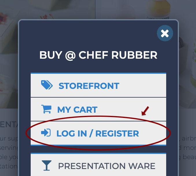 log in / register