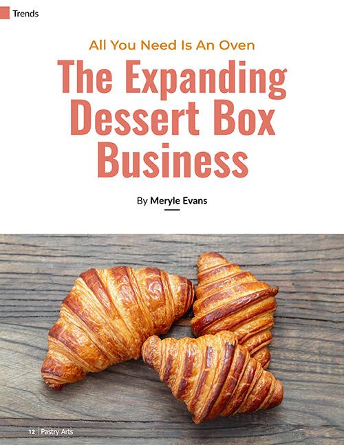 dessert box business